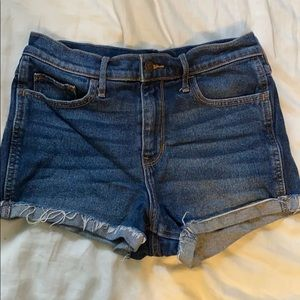 Size 5 Hollister high rise shorts